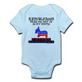 Future Democrat Infant Bodysuit
