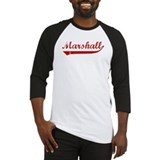 Marshall (red vintage) Baseball Jersey
