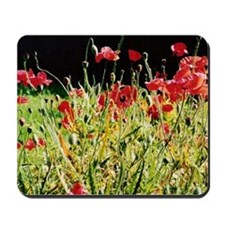 Flanders Poppies, Victoria Mousepad