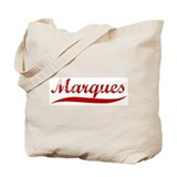 Marques (red vintage) Tote Bag