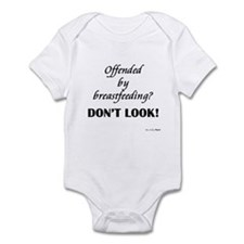 Offended by breastfeeding? Infant Bodysuit