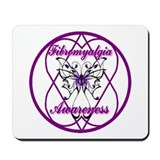Purple Butterfly Hope-a-gram Mousepad