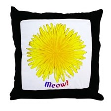 DandyLion Throw Pillow