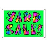 BANNER: Yard Sale!