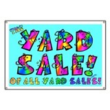 BANNER: The Yard Sale of all Yard Sales!