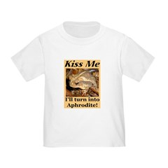 Kiss Aphrodite Toddler T-Shirt