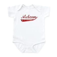 Mclean (red vintage) Infant Bodysuit