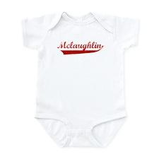 Mclaughlin (red vintage) Infant Bodysuit