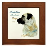 ASD Best Friend1 Framed Tile