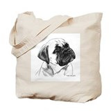 Cool Bullmastiff Tote Bag