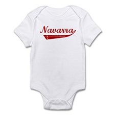 Navarra (red vintage) Infant Bodysuit