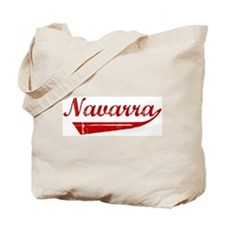 Navarra (red vintage) Tote Bag