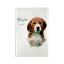 Beagle Best Friend1 Rectangle Magnet