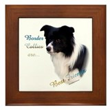 Border Collie Best Friend1 Framed Tile