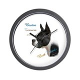 Boston Best Friend1 Wall Clock