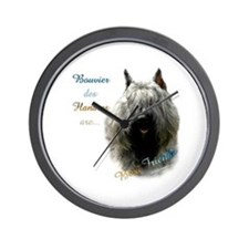 Bouvier Best Friend1 Wall Clock