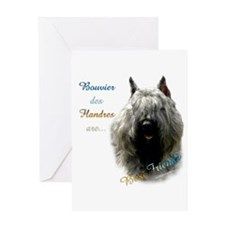 Bouvier Best Friend1 Greeting Card
