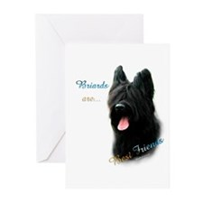 Briard Best Friend1 Greeting Cards (Pk of 20)