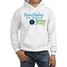Breastfeeding: The Original Green Energy Hoodie