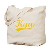 Vintage Kya (Orange) Tote Bag