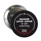 Speak Your Mind 2.25&amp;quot; Button