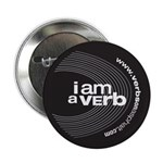 "I am a verb 2.25"" Button"