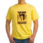Bob Younger Reward Yellow T-Shirt