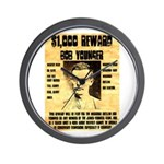 Bob Younger Reward Wall Clock