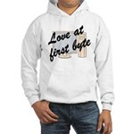Love At First Byte Hooded Sweatshirt