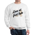 Love At First Byte Sweatshirt