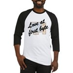 Love At First Byte Baseball Jersey