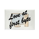 Love At First Byte Rectangle Magnet (100 pack)