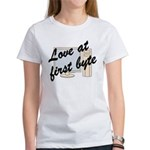 Love At First Byte Women's T-Shirt