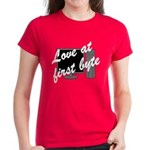 Love At First Byte Women's Dark T-Shirt