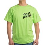 Love At First Byte Green T-Shirt