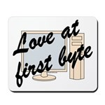 Love At First Byte Mousepad