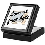 Love At First Byte Keepsake Box
