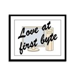 Love At First Byte Framed Panel Print