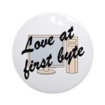 Love At First Byte Ornament (Round)
