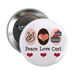 Peace Love Curl Curling 2.25