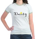 """Daisy"" with yellow daisy T"