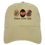 Peace Love Curl Curling Cap