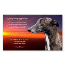 Hopi Prayer Rectangle Sticker 50 pk)