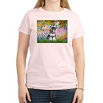 Garden / Miniature Schnauzer Women's Light T-Shirt