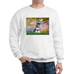 Garden / Miniature Schnauzer Sweatshirt