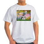 Garden / Miniature Schnauzer Light T-Shirt