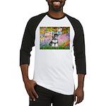 Garden / Miniature Schnauzer Baseball Jersey