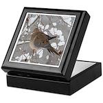 Winter Dove Keepsake Box