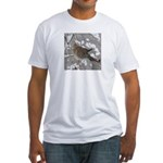 Winter Dove Fitted T-Shirt