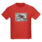Winter Dove Kids Dark T-Shirt